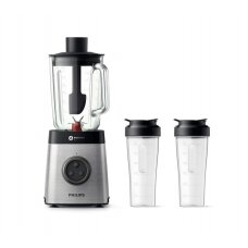 Philips Kokteilinė HR3655/00 Stainless steel, 1400 W, Glass, 2 L, Type Tabletop, 35000 RPM