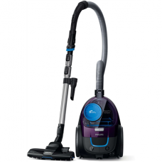 Philips Vacuum cleaner PowerPro Compact FC9333/09 Bagless, Dry cleaning, Power 650 W, Dust capacity 1.5 L, 79 dB, Purple