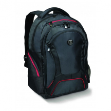 """Port Designs Courchevel Fits up to size 15.6 """", Black, Waterproof cover, Shoulder strap, Backpack"""
