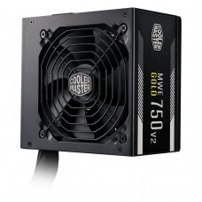 Power Supply COOLER MASTER 750 Watts Efficiency 80 PLUS GOLD PFC Active MTBF 100000 hours MPE-7501-ACAAG-EU