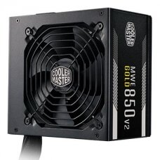 Power Supply COOLER MASTER 850 Watts Efficiency 80 PLUS GOLD PFC Active MTBF 100000 hours MPE-8501-ACAAG-EU