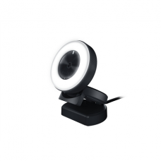 Razer Kiyo - Ring Light Equipped Broadcasting Camera Connection type: USB2.0. Fast & Accurate Autofocus for seamlessly sharp footage.