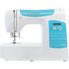 Singer Sewing Machine C5205-TQ Number of stitches 80, Number of buttonholes 1, White/Turquoise