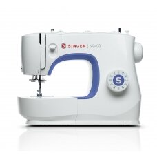 Singer Sewing Machine M3405 Number of stitches 23, Number of buttonholes 1, White