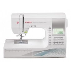 Singer Sewing Machine Quantum Stylist™ 9960  Number of stitches 600, Number of buttonholes 13, White