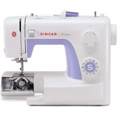 Singer Sewing Machine Simple 3232 Number of stitches 32, Number of buttonholes 1, White