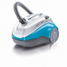 Thomas Vacuum Cleaner  Perfect Air Allergy Pure Wet and dry vacuum cleaner, Wet suction, Power 1600 W, Dust capacity 1.8 L, White/Mėlyna