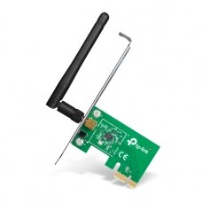 TP-LINK TL-WN781ND, PCI Express Adapter 2.4GHz, 802.11n, 150Mbps, 1xDetachable antennas 2dBi