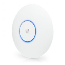 Ubiquiti UAP-AC-PRO Access point 1300 Mbit/s, 10/100/1000 Mbit/s, Ethernet LAN (RJ-45) ports 2, MU-MiMO Yes, PoE in, 1 year(s), 802.11 a/b/g/n/ac