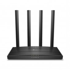 Wireless Router|TP-LINK|Wireless Router|1900 Mbps|IEEE 802.11a|IEEE 802.11b|IEEE 802.11a/b/g|IEEE 802.11n|IEEE 802.11ac|1 WAN|4x10/100/1000M|ARCHERC80